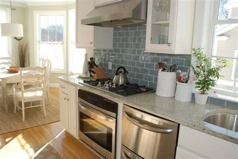 Tiles For Backyard Kitchen Magnificent Small Kitchen Design With White Wood