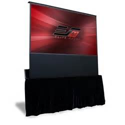 100 floors stage 99 electric floor rising projector screens projector screen