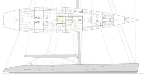 lightest layout boat tripp design naval architecture design 37m 44m
