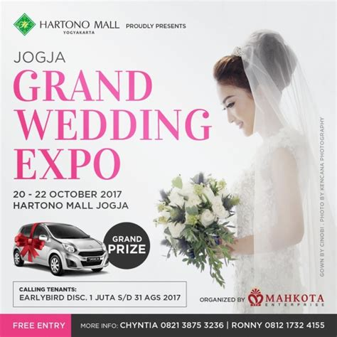 jogja grand wedding expo atrium hartono mall yogyakarta - Wedding Expo Jogja 2017