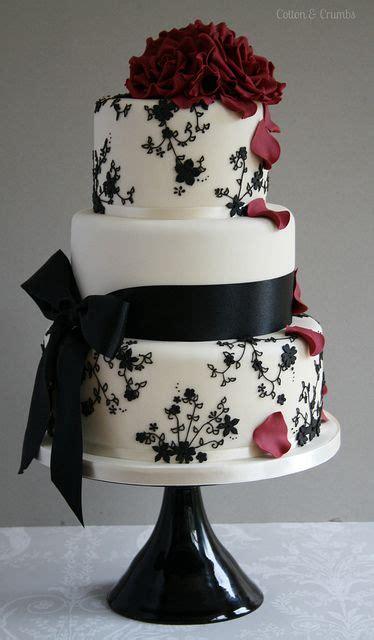 Hochzeitstorte Wei Rot by Black Lace Schwarz Wei 223 Rot Farbe Schwarz Und