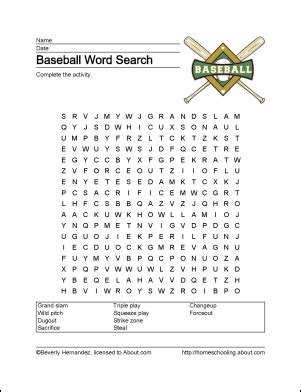 baseball word games printable 73 best games and other fun stuff images on pinterest