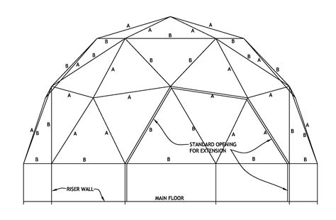 dome house design dome plans 2 freq flat side loversiq