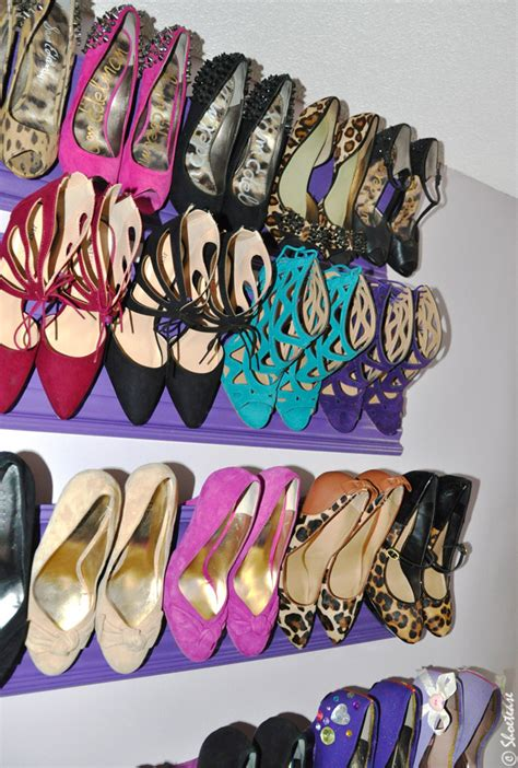 high heel shoe storage how to build a crown molding diy shoe rack in 10 steps
