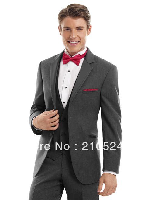 prom tuxedos men light suit wedding lapel