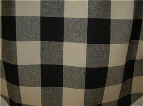 black and cream buffalo check curtains buffalo check black dark cream handmade unlined valance