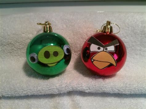 angry bird ornaments 39 best images about deck the tree on