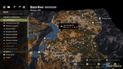 upgrades  vehicles  black river michigan game