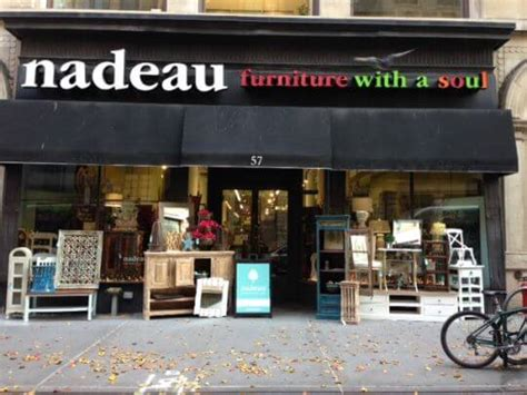nadeau furniture and customer service the business