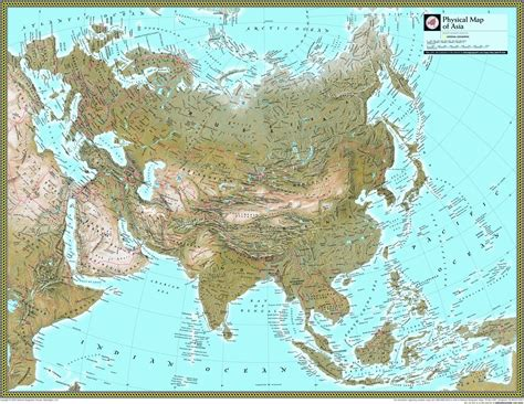 map usa national geographic reviews for asia physical atlas wall map maps