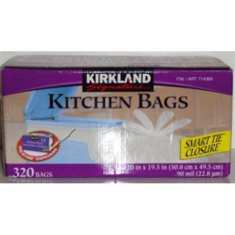 Kirkland Kitchen Bags by Kirkland Smart Tie Kitchen Bags 20 Quot X 19 5 Quot
