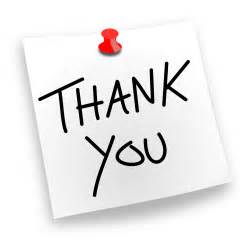 clipart thank you pinned