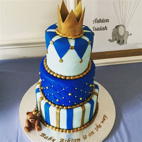 ideas royal blue baby shower cake and imaginative its a boy baby shower cake blue