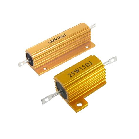 resistors in series with led golden aluminum housed resistor for led rx24 series