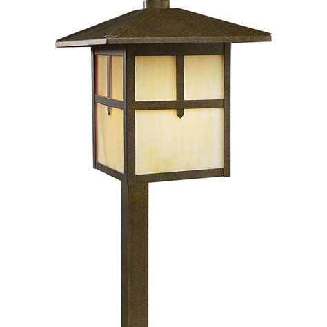 Bronze Landscape Lighting Progress Lighting 120 Volt 60 Watt Weathered Bronze Landscape Path Light P5273 46 The Home Depot