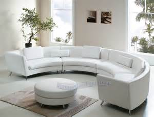 Curved Leather Sectional Sofa Modern Line Furniture Commercial Furniture Custom Made Furniture Seating Collection