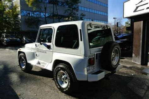 Used Jeep Wrangler Montreal Find Used 1992 Jeep Wrangler Renegade In Montreal