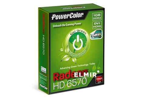 Vga Powercolor Radeon Hd 6570 1gb Ddr3 pci e 1gb radeon hd6570 ddr3 powercolor