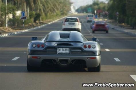 koenigsegg uae koenigsegg ccx spotted in al ain united arab emirates on