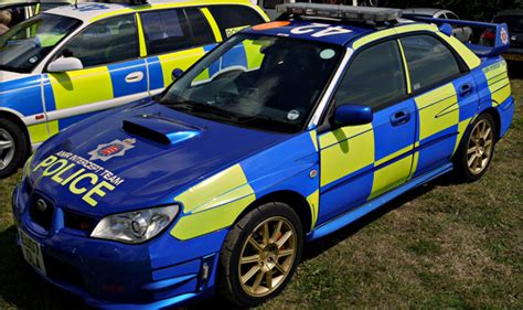 fastest police british police cars