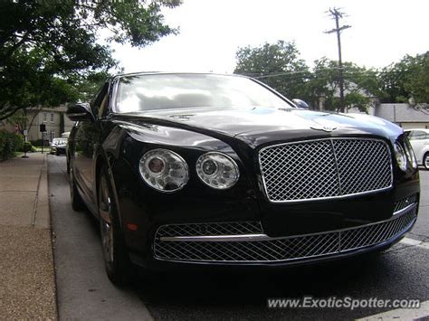 bentley continental spotted in dallas on 06 07 2014