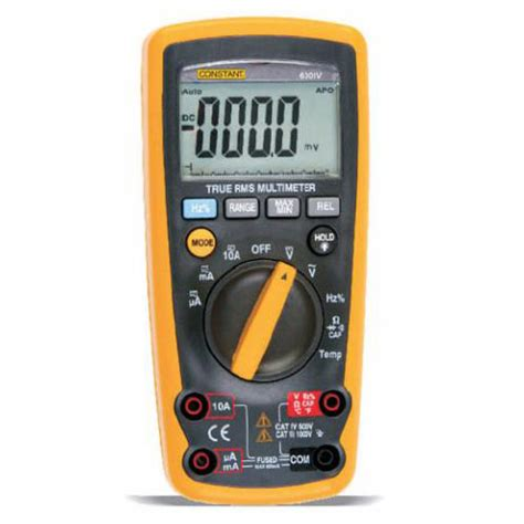 Multimeter Digital Constant jual constant 600iv digital multimeter true rms