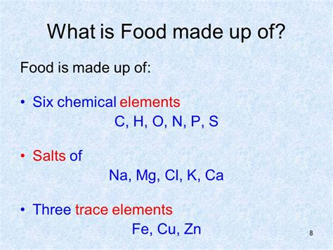 9 carbohydrates are composed of which three elements 1 3 1 function of food why do we need food ppt