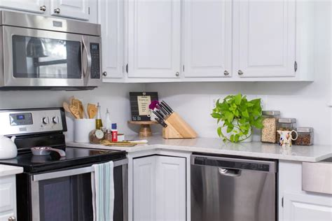 transform your kitchen with a removable backsplash hgtv
