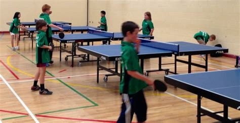 children s table tennis table after classes for kids leinster table tennis league