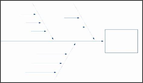 5 Blank Ishikawa Diagram Template Sletemplatess Sletemplatess Ishikawa Template Word