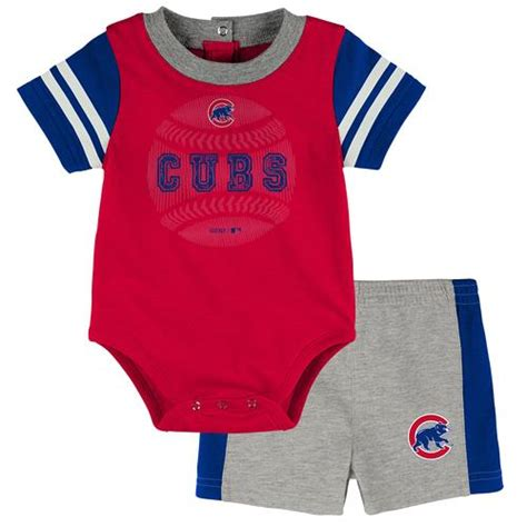 Boyset Bs 585 chicago cubs baby clothes babyfans babyfans