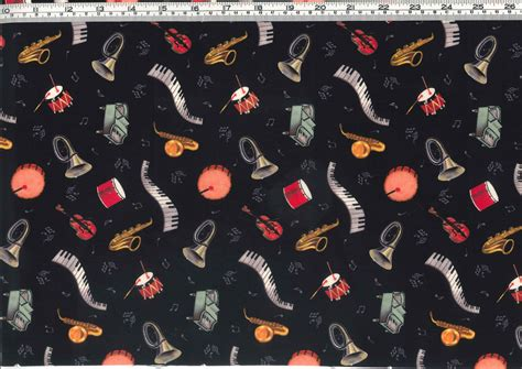 music themed quilting fabric musical instruments camelot crafts