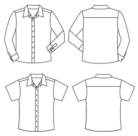 pattern lengan baju fitinline com cara mudah membuat pola pola kemeja kasual