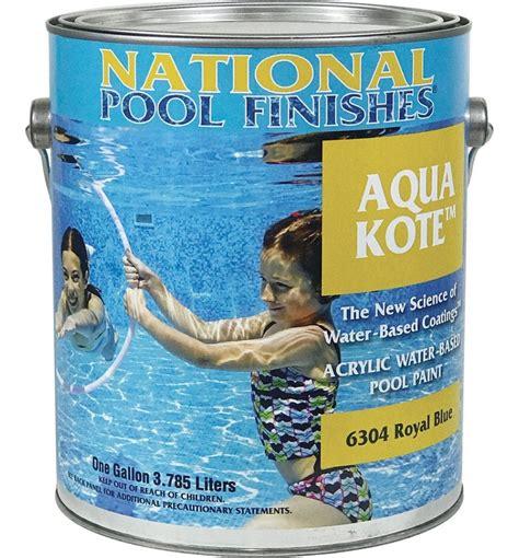 aqua kote acrylic waterbase pool paint cheap pool paint
