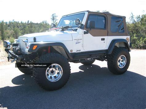 1997 Jeep Wrangler 1997 Jeep Wrangler Sport Sport Utility 2 Door 4 0l