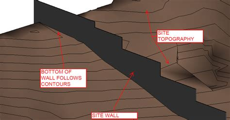 revit tutorial topography revit tutorial walls the follow topography intersection