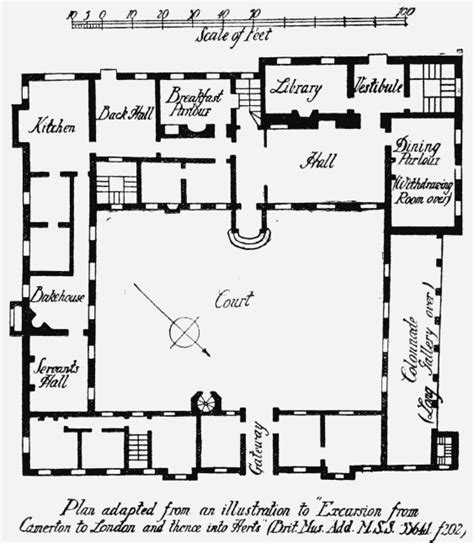Open Floor Plans House Plans Parishes Knebworth British History Online