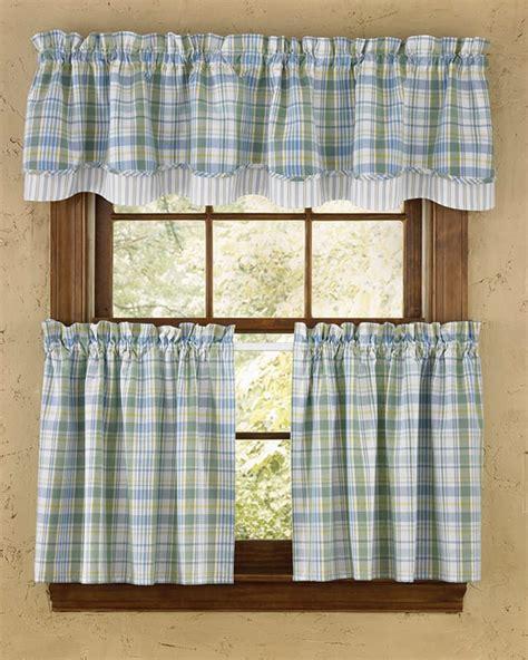 Sarasota lined layered curtain valance