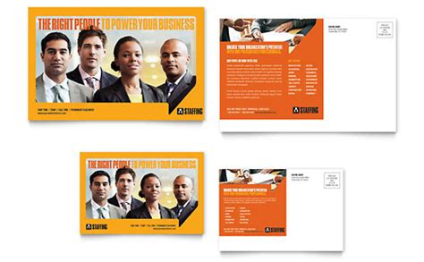 Staffing Recruitment Agency Flyer Ad Template Design Recruitment Agency Website Template Free