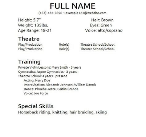 Special Skills On Resume Exle by Special Skills For Resume Out Of Darkness