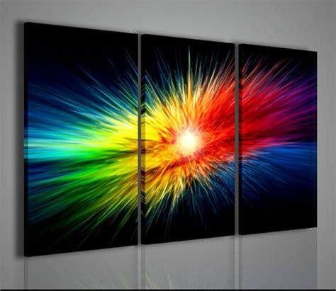 quadri con fiori di pittori famosi quadri moderni quadri astratti explosion of color