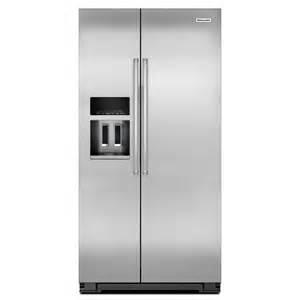 kitchenaid krsc503ess 22 7 cu ft counter depth side