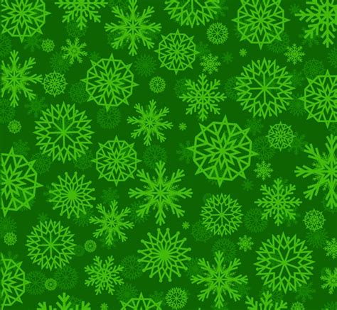 pattern snowflakes photoshop green snowflake pattern seamless background vector