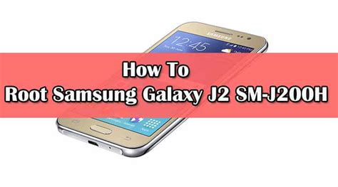 Min Ho Samsung Galaxy J2 Custom 1 updated root samsung galaxy j2 sm j200h with supersu