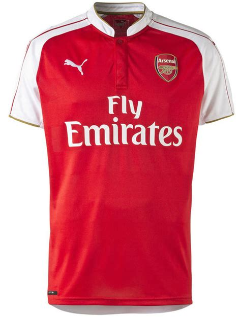 Jersey Arsenal 2015 2016 Home official new arsenal kit 15 16 afc home 2015 2016