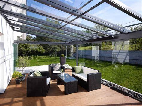 solarlux terrassendach sdl atrium  aluminium sonne