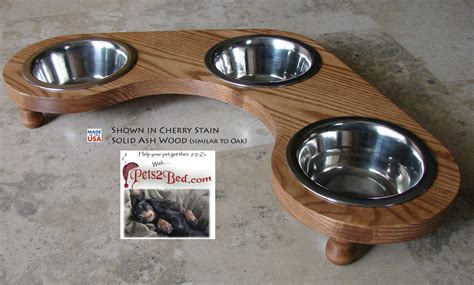 3 bowl feeder corner or cat diner bowl