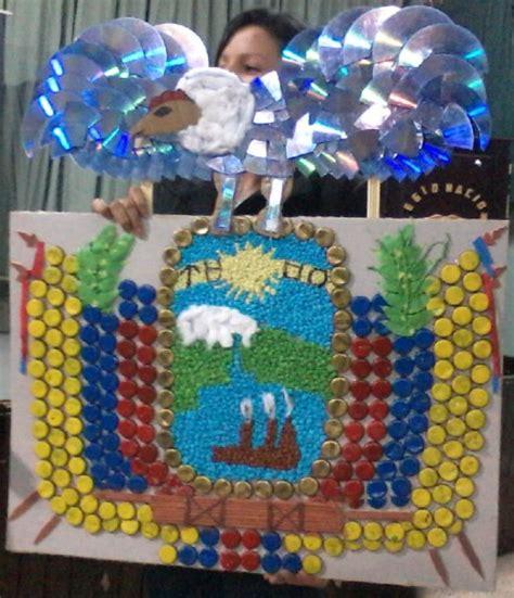 como hacer un escudo material resiclave elaboraci 243 n del escudo del ecuador con material reciclado