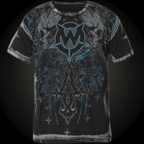 Silverstar Pauly The Imortal Shirt wornstar t shirt immortal in black with contrasting stitching