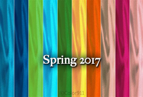 what are the colors for spring 2017 pantone top 10 colors for spring 2017 color911